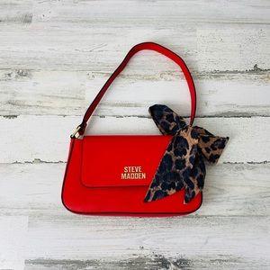 Steve Madden Red Mini Handbag